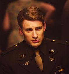 'Bucky' Barnes: What happened to you?   Steve Rogers: I joined the Army.   - Chris Evans.  ~Captain America