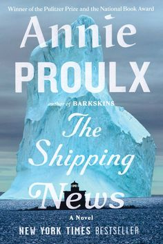 Buy The Shipping News by Annie Proulx at Mighty Ape NZ. Annie Proulx focuses on a Newfoundland fishing town in a tale about a third-rate newspaperman and the women in his life-- his elderly aunt and two . Best Books To Read, Great Books, New Books, Books 2016, National Book Award, Thing 1, Fiction Books, So Little Time, Book Worms
