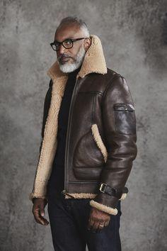 Oliver Sweeney Althorne Tobacco Aviator Jacket | Ape to Gentleman