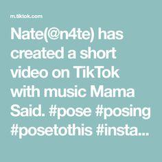 Nate(@n4te) has created a short video on TikTok with music Mama Said. #pose #posing #posetothis #instagram #inspo #posingtips #posetips #posechallenge #phototips #photography #photographer #camera #canon #nikon Posing Tips, Photo Tips, Lightroom, Nikon, Poses, Photography Camera, Sayings, Music, Instagram