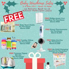 Hi Mummies & Daddies,  SAVE BIG With Baby Warehouse Sales Baby Bottles Trade In Offers  ✔ Trade In Date: 2 - 4 Dec (Fri - Sun) ✔ Trade In Time: 12 - 9pm / whilst stocks last ✔ Venue: 279 Balestier Road #01-06 Balestier Point S'pore 329727  ✔ Can use any old bottles (any size) from any brands to buy new bottles @ trade in price ✔ Limit to 4 bottles per adult ✔ 1 old bottle for 1 new bottle   PHILIPS AVENT Classic+ Bottle 125ml  U.P. $11.90 Trade In Offer: $5  PHILIPS AVENT Classic+ Bottle…