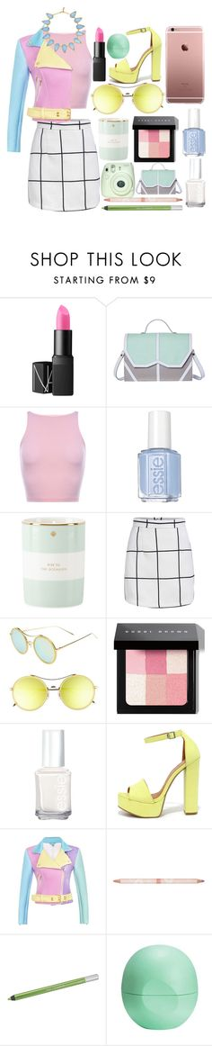 """""""Pastels"""" by bbernie ❤ liked on Polyvore featuring beauty, NARS Cosmetics, Emeline Coates, Essie, Kate Spade, Gentle Monster, Bobbi Brown Cosmetics, Chinese Laundry, Paul & Joe Beaute and Urban Decay"""