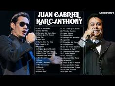 Juan Gabriel Y Marc Anthony Sus Mejores Éxitos 2016   Mix Romanticas 2016…