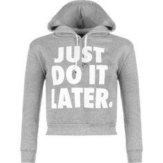 Danette Slogan Cropped Hoodie ($22) ❤ liked on Polyvore featuring tops, hoodies, light grey, crop top, cropped hoodie, hooded sweatshirt, long sleeve hoodies and print crop top