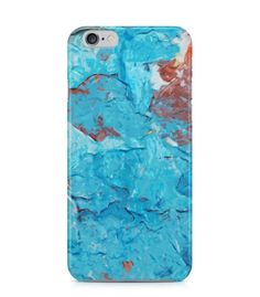 Blue and Brown Abstract Picture 3D Iphone Case for Iphone 3G/4/4g/4s/5/5s/6/6s/6s Plus - ARTXTR0211 - FavCases