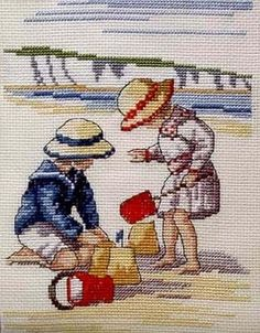ru & Фото - All Our Yesterdays - risau Cross Stitch Sea, Cross Stitch Kits, Cross Stitch Designs, Cross Stitch Patterns, Cross Stitching, Cross Stitch Embroidery, Embroidery Patterns, Hand Embroidery, Cross Stitch Pictures