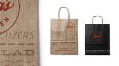 Lena's Italian Kitchen | Longitude° Branding Agency, Logo Branding, Brand Identity, Restaurant New York, Restaurant Branding, Italian Logo, Manhattan Restaurants, Italia Design, Logo Inspiration