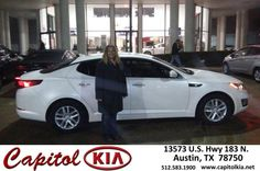 Congratulations to Kevin Raibourn on your #Kia #Optima purchase from John Coston at Capitol Kia! #NewCar
