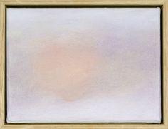 a/c 731 Evening Sun II Oil on canvas Exhibition Mood Changes 2007 #Jon Schueler