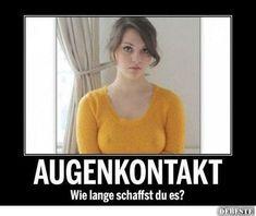 Augenkontakt - Wie lange schaffst du es? | Lustige Bilder, Sprüche, Witze, echt lustig | lustige Bilder | Pinterest