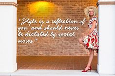 Catherine's style interview quote | 40plusstyle.com