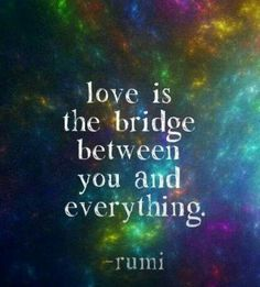 Love is the bridge ~¤♡¤~