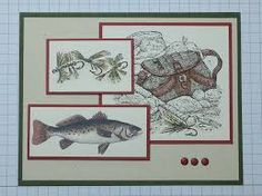 Stampin up Angler cards - Google Search