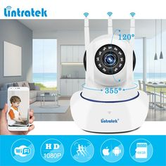Howell WiFi Camera IP 720P Home Security Camera Wi Fi P2P Two Way Audio IR Night. Click visit to buy
