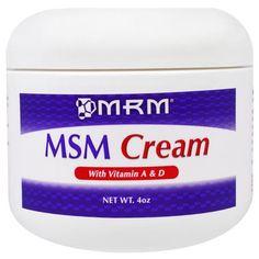 MRM, MSM Cream, 4 oz