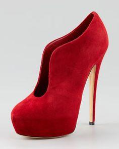 Casadei. I love red!