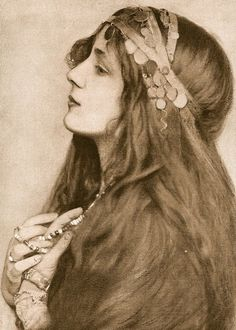 Evelyn Nesbit, Photogravure,1901