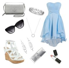 """""""Caitlin Doyle - the unicorn obsessed girl"""" by diamondleedazzling on Polyvore featuring Michael Kors, GUESS, Tory Burch, Elizabeth and James, Effy Jewelry, Christian Dior and Sigma"""