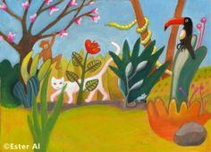 Jungle, Illustration by Ester Al