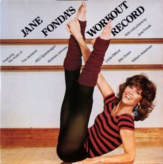Jane Fonda's workout record, not 70s....but 1981...exercised on this record.