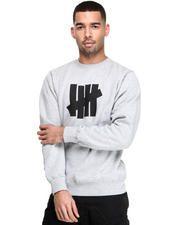 UNDFTD - 5 strike basic pullover crew sweatshirt