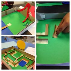 STEM Challenge! Build a marble maze using cardboard and paper!