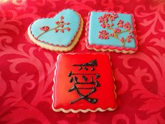 Asian Themed Cookies