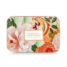Mandarin & Flowers Soap Beauty Soap, Luxury Beauty, Mother Day Gifts, White Flowers, Mothers Day Presents