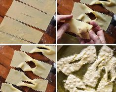 How To Make Italian Crostoli - Crostoli is a crispy fried Italian . - How To Make Italian Crostoli – Crostoli is a crispy fried Italian pastry that is used during Carn - Italian Cookie Recipes, Italian Cookies, Italian Desserts, Gourmet Desserts, Plated Desserts, Italian Pastries, Sweet Pastries, French Pastries, Angel Wings Recipe Italian