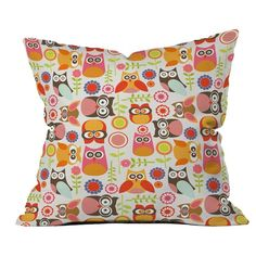 Little Owls Pillow