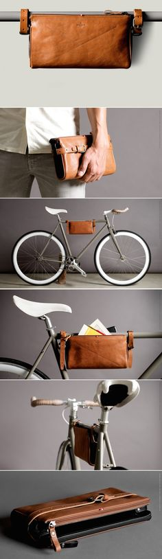 Authentic Designer Handbags As A Gift - Womens Bicycle - Ideas of Womens Bicycle - Frame Pack thinking this would be a good gift for someone womens designer handbags authentic handbags handbags for women brands Bike Accessories Shop, Leather Accessories, Leather Art, Leather Design, Bici Retro, Pimp Your Bike, Velo Vintage, Bike Bag, Bike Style