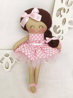 Cloth baby doll Handmade Dolls Fabric Dolls by SewManyPretties