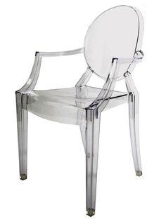 Kartell Louis Ghost Chair #Kartell #designerobject #furniture #designerchair #interior