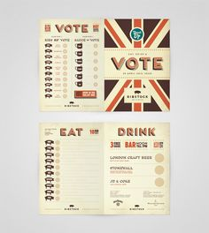 """""""Voting Card"""" Ribstock by Ello Mate!  www.ellomate.co.uk"""