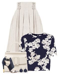 """""""Untitled #6793"""" by cassandra-cafone-wright ❤ liked on Polyvore featuring FLOW the Label, Erdem, Boyy and Pour La Victoire"""
