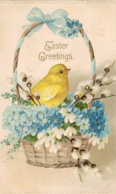 vintage easter - Yahoo Image Search Results Easter images vintage easter images inspiration Easter Greeting Cards, Vintage Greeting Cards, Vintage Postcards, Easter Art, Easter Decor, Easter Centerpiece, Easter Table, Easter Eggs, Easter Pictures