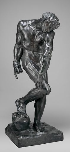 Adam Auguste Rodin (French, Paris Meudon) Date: modeled 1880 or cast 1910 Culture: French, Paris Medium: Bronze Dimensions: Overall (confirmed): H. x x cm) Classification: Sculpture-Bronze Auguste Rodin, Abstract Sculpture, Sculpture Art, Sculpture Garden, Metal Sculptures, Michelangelo, Rodin Drawing, Antoine Bourdelle, Carpeaux