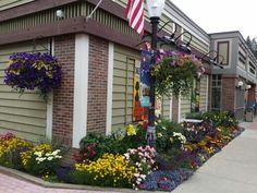 Bigfork Playhouse Bigfork Montana, Montana Lakes, Mystic Mountain, Flathead Lake, Play Houses, Sidewalk, Vacation, Plants, Vacations