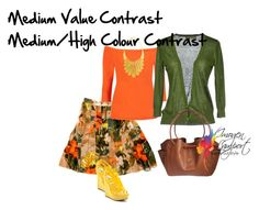 """medium value medium high colour contrast"" by imogenl ❤ liked on Polyvore featuring Burberry, Innamorato, Carrini, Amrita Singh and Alexandra de Curtis"