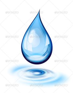 Buy Water Drop Icon by tilo on GraphicRiver. Water drop and ripples icon. This file contains transparency blends/gradients. Rain Drop Drawing, Water Drawing, Drawing Water Drops, Water Drop Logo, Water Logo, Water Drop Quotes, Teardrop Tattoo, What Is Water, Water Drop Photography