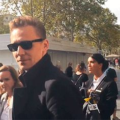Tom Hiddleston promotes 'Crimson Peak' in Barcelona (Spain) https://instagram.com/p/8deX3sy9DI/