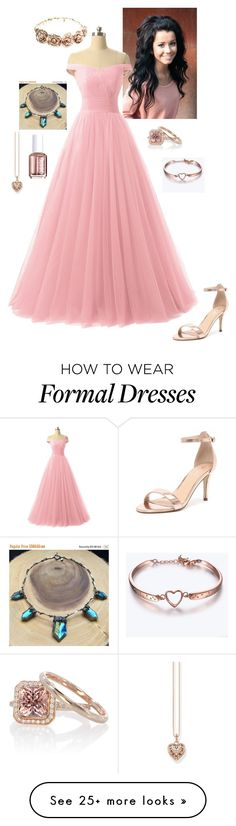 """Persephone"" by daughteroflightning on Polyvore featuring Verali, Forever 21, Essie and Thomas Sabo"