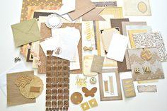 Journaling Kit Journal Kit Junk Journal Kit by ArtistsCornerShop