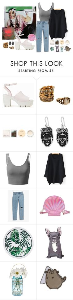 """Sun"" by danielagreg ❤ liked on Polyvore featuring Nly Shoes, Korres, NOVICA, Doublju, WithChic, Monki, Silken Favours and Cultural Intrigue"