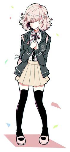 Fire Emblem, Nanami Chiaki, Pink Blood, Super Danganronpa, Nagito Komaeda, Danganronpa Characters, Animes Wallpapers, Cute Art, Cool Girl