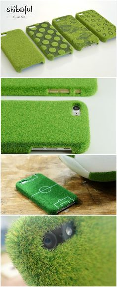 Shibaful (Yoyogi Park) - The World's First Artificial Lush Lawn Case for iPhone. #affiliate