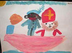 Aankomst Sinterklaas verven