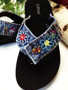 Madame Xereta: Reciclagem:jeans!                                                                                                                                                                                 Mais