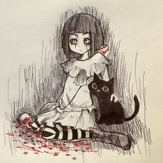 fran bow Creepy Games, Creepy Art, Spideypool, Image Triste, Demon Pictures, Bow Art, Little Misfortune, Mad Father, Rpg Horror Games