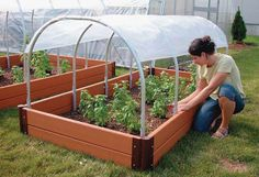 Keep your small plants out of the cold or start new plants early with our Mini Cold Frame! Diy Mini Greenhouse, Greenhouse Film, Backyard Greenhouse, Greenhouse Growing, Greenhouse Plans, Cheap Greenhouse, Greenhouse Heaters, Polycarbonate Greenhouse, Greenhouse Cover